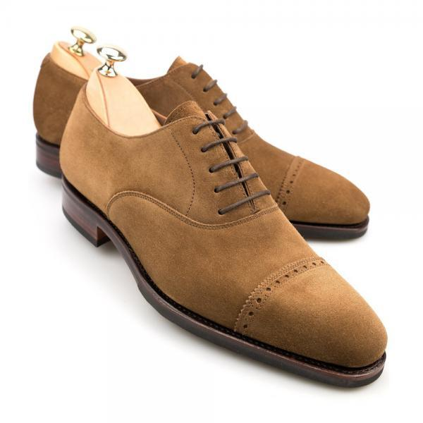 Tan Color Oxford Rounded Plain Cap Toe Stylish Leather Lace up Casual Dress Men Shoes
